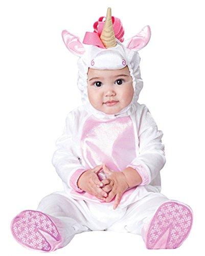 Einhorn Jumpsuit Magical Unicorn Baby Kostüm-Anzug für Fasching S