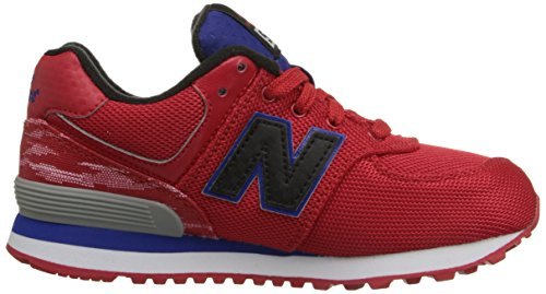 New Balance KL574 W Schuhe Rot / Blau