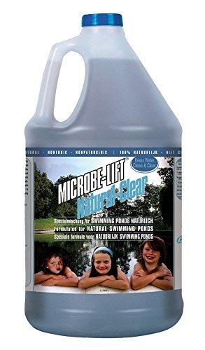AquaForte - 4L Microbe-Lift Natural-Clear Wasseraufbereiter Schwimmteiche Teich Spezial Formel nützliche Bakterien -