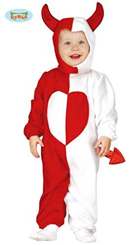 Süßes Kostüm Teufel (Süßes Teufel Kostüm für Babys Gr. 74-98,)
