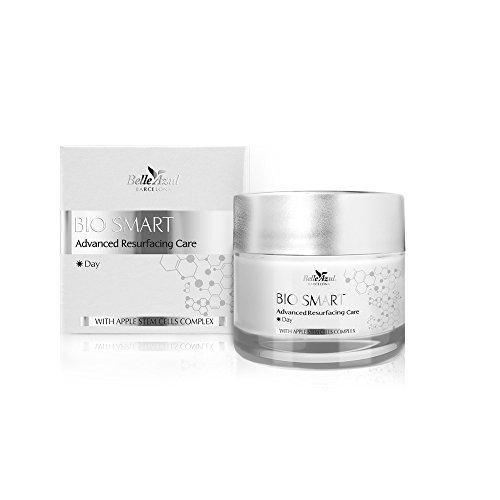 Belle Azul - BIO SMART 50ml Crema de día Cuidado Anti-arrugas Reafirmante & Anti-edad✔vegano ✔sin parabenos ✔sin ftalatos ✔no testado en animales