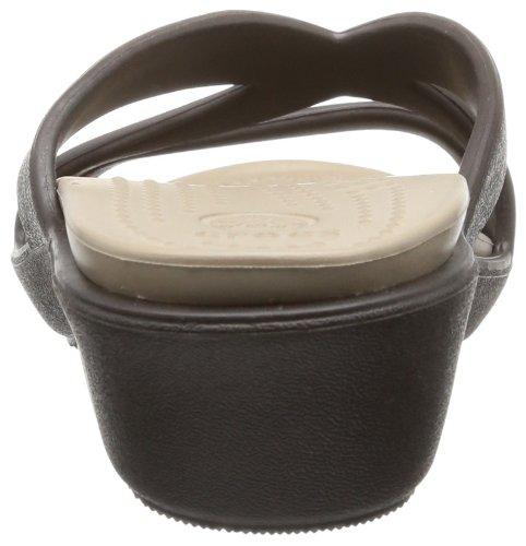 Crocs Patricia II Damen - Braun (Espresso/Mushroom)