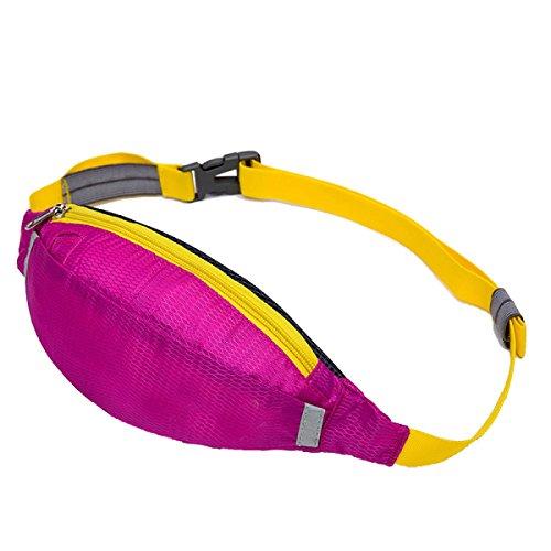 Multifunktionale Outdoor Fitness Sporttaschen Mehrfarbig Purple2