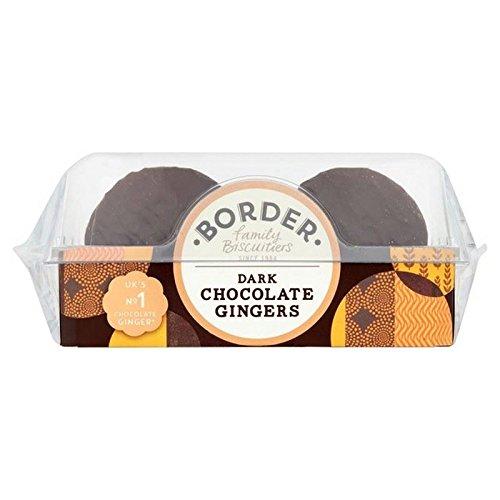 Border Biscuits - Dark Chocolate Gingers - 175g