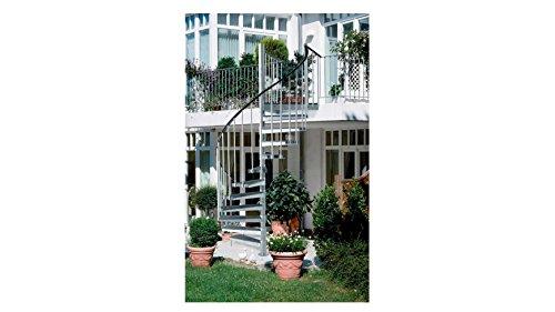 DOLLE Außentreppe Gardenspin gespindelt