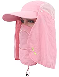 ECYC 360 degrés Sun Protective Hat Skiing Mosquito Ski Protection