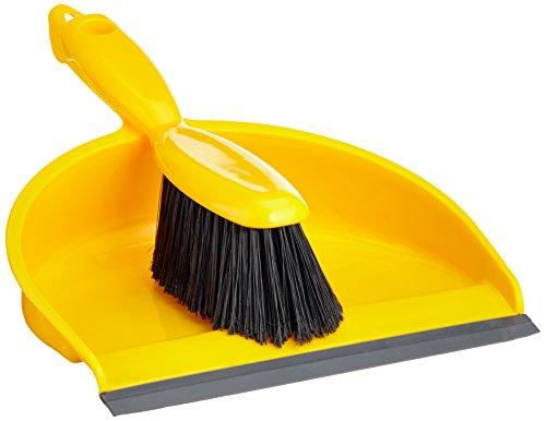 bentley-vow-8011-y-kehrschaufel-und-pinsel-set-gelb