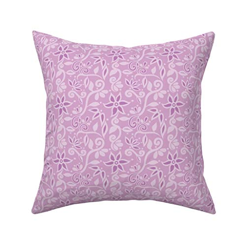 Einst Rapunzel Bodice Floral Kissenbezug Sofa Kissenbezug Home Decor 18 x 18 Zoll 45 x 45 cm (Decor Party Rapunzel)
