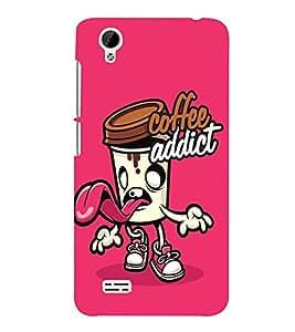 Takkloo coffee addict coffee love, coffee designcute covergirly cover) Printed Designer Back Case Cover for Vivo Y31 :: VivoY31L