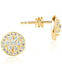 Ingenious Jewellery - Pendientes de plata con zirconia (0)