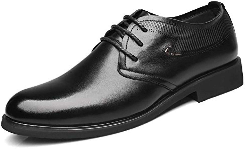 Ruanyi Leder Oxford Schuhe Männer  Formale Echtes Leder Weiche Sohle Wohnungen Einfache Design Schnürschuhe OxfordsRuanyi Formale Wohnungen Einfache Schnürschuhe