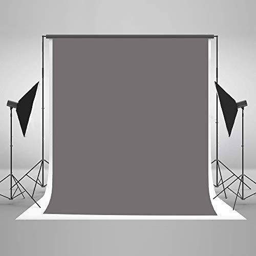KateHome PHOTOSTUDIOS 1,5x2,2m Grauer Hintergrund Solider Hintergrund Für Fotografie Studio Portrait Fotografie -