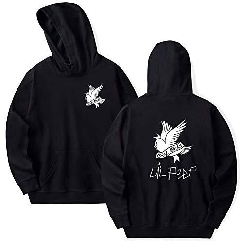 LOVEYF Unisex Frühling Hoodie Mit Kapuze Sweatshirts Pullover Lil Peep Cry Baby Vogel Hip Hop Rapper Beiläufiger Hoodie für ()
