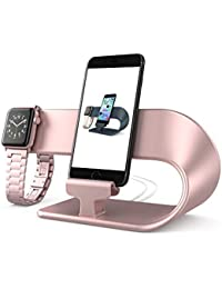 Stand Replacement for Apple Watch Series 4 3 2 1 and iPhone, PUGO TOP Apple