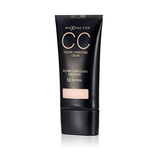 3 x Max Factor CC Colour Correcting Cream SPF10 30ml Sealed - 50 Natural (Natürlichen Spf10)