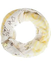 Codello Damen Loop Schal mit Peanuts-Muster 81053501 Gelb