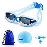 ZJHK ZJHK Schwimmbrille Myopie Schwimmbrille Erwachsene Anti-Fog Tauchen Brille Männer Frauen Professionelle wasserdichte Silikon Pool Schwimmen Brillen