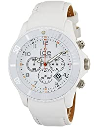 Ice-Watch Unisex-Armbanduhr Big Ice-Chrono Matt Weiss CH.WE.B.L.