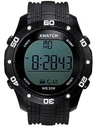 RG étanche sans fil Bluetooth montre de sport Fitness Tracker Santé Monintor pour ios Système Android iPhone Samsung HTC (Jaune)