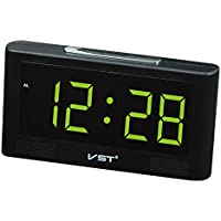 Homyl LED Reloj Digital de Pared Escriotorio Mesa con 2inchs Pantalla Grande - Enchufe UE -