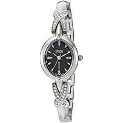 Jivago Women's 'Via' Quartz Stainless Steel Casual Watch, Color:Silver-Toned (Model: JV3610)