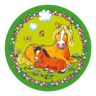 Lutz Mauder Tortenaufleger Pferd Pony aus Zuckerpapier