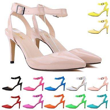 CH&TOU Scarpe Donna - Sandali - Formale / Casual / Serata e festa - Tacchi / A punta - A stiletto - Finta pelle -Nero / Blu / Giallo / Verde / White