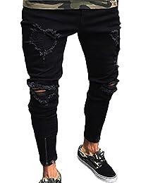 qualità superiore il più economico maggiore sconto di vendita Amazon.it: Jeans con bretelle - Jeans / Uomo: Abbigliamento