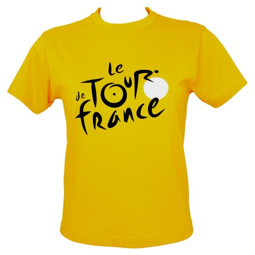 Le Tour de France - T-Shirt Tour de France Officiel - Couleur : Jaune