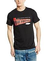 Plastichead Herren T-Shirt Thunderbirds Logo