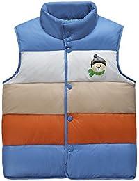 Dr.mama moda abrigo de pluma chaleco de pluma sin mangas para los niños