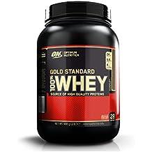 Optimum Nutrition 1054631 Gold Standard 100% Whey Suplemento para Deportistas, Sabor de Chocolate - 908 gr