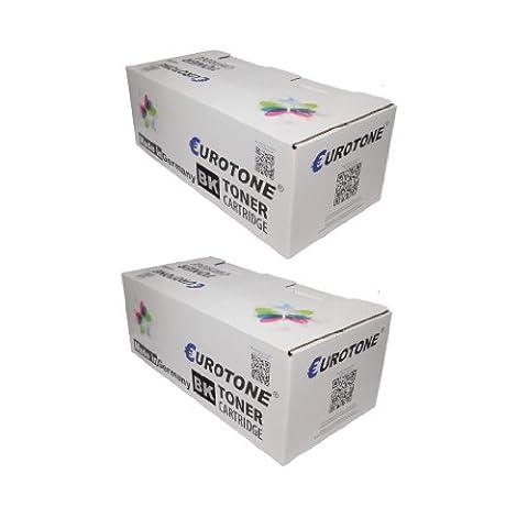 2x Eurotone Toner Kartuschen remanufactured für Hewlett Packard HP LaserJet