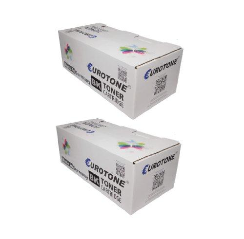 Preisvergleich Produktbild 2x Eurotone High Quality Toner Cartridge für Kyocera FS 2100 D / DN - ersetzen TK-3100 / 1T02MS0NL0 Patronen - kompatible XXL Premium Alternative - non oem