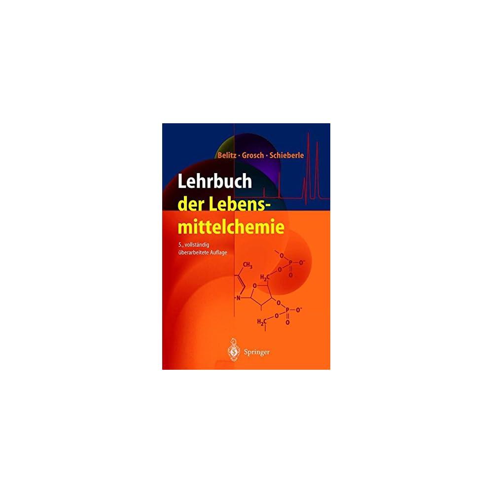 Lehrbuch Der Lebensmittelchemie Springer Lehrbuch