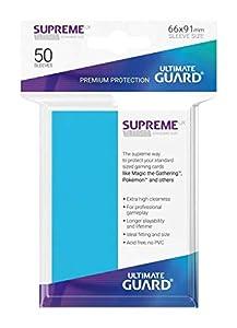 Ultimate Guard ugd010797UX Supremo Fundas Standard Tamaño Luz Azul (50)
