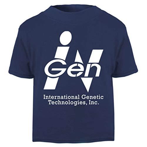 International Genetic Technologies Inc Ingen Jurassic Park Baby and Toddler Short Sleeve T-Shirt