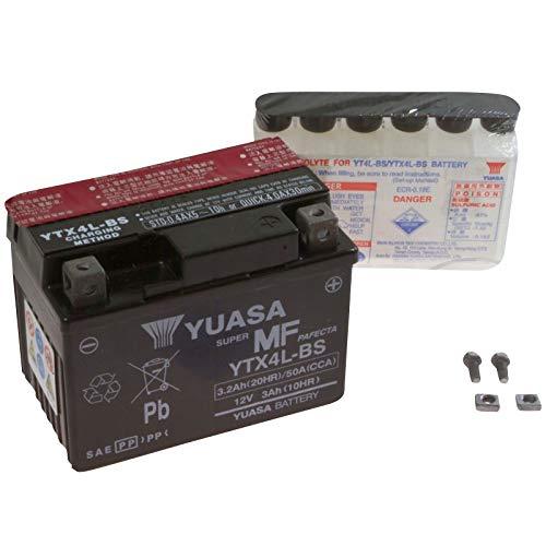 Yuasa AGM Batterie Formula 50 4T 2000 2009-2010 YTX4L-BS