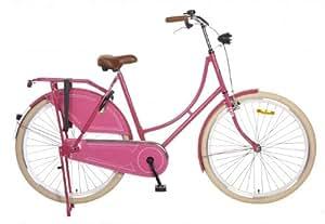 Hollandrad 28 Zoll Rosa Omafiets Pink