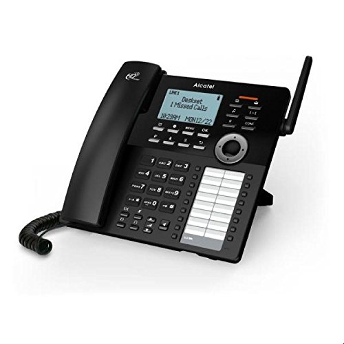 Alcatel IP30 DECT Desktop phone schwarz - Voice-Over-IP - Voice-Over-IP, ATL1417211