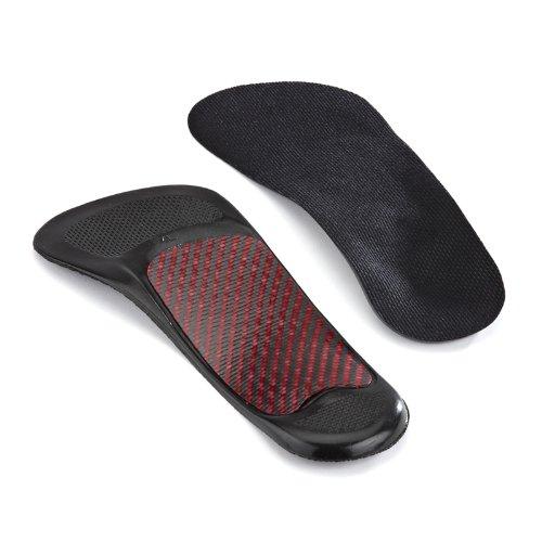 Sorbo RX Ultra Orthotische 3/4 Länge Arch Unterstützung - Überlegene Stabilität Schock Absorbierende Ferse Orthotische Geruchskontrolle Trunkierte Design Athletic, Dress & Casual Schuhe Large (Schock Absorbierende Einlagen)