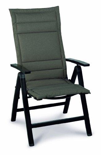 Best 04531233 Coussin plat bas dossier pour fauteuil Motif 1233 100 x 50 x 4 cm