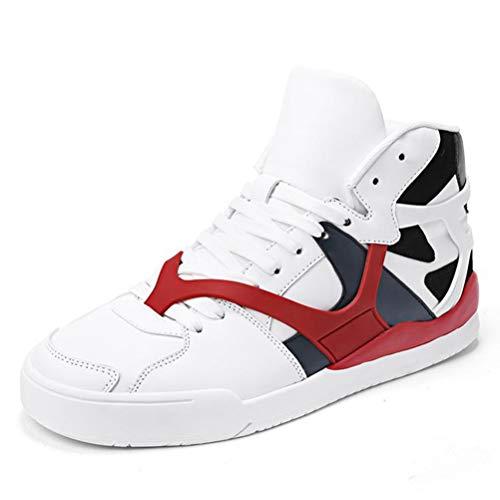 Männer Freizeitschuhe High Top Fashion Sneakers Männliche Flache Atmungsaktive Laufschuhe Jugend Anti-Slip Sport Trainer (Max Mann 2014 Air)