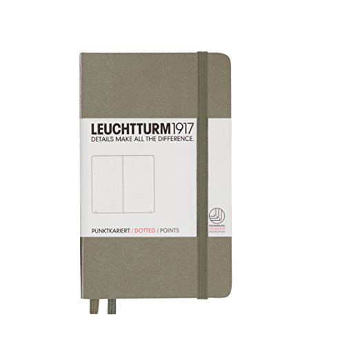 leuchtturm1917-339599-carnet-pocket-a6-185-pages-numerotees-taupe-pointilles