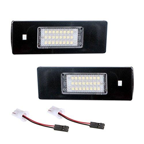 akhan kb16z - Plaque Minéralogique à LED Modules Unité complète Plug N Play Convient pour BMW E64, E64 N, E81 E87, E87 N E85 E86 E82, E88, E90, E90 N, E91 E92 E93 M3