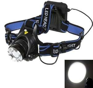 LingsFire® 1800lm CREE LED T6 XM-L Lampe frontale anti-chute, zoomable, imperméable à l'eau bon pour les activités de plein air comme le vélo,la moto,la chasse, le cyclisme, l'escalade et camping, etc