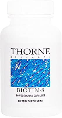 Thorne Research - Biotin 8 - Water-Soluble B Vitamin Supplement - 60 Capsules from Thorne