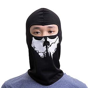 Zolimx Mütze Maske Warme Damen Herren Winter Multifunktional Kopfbedeckung Maske Motorrad Ski Balaclava Vollgesichtsmaske Wasserdicht Winddicht Cap Hut