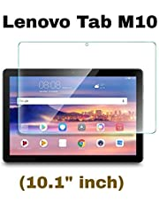"""M.G.R.J® Tempered Glass Screen Protector for Lenovo Tab M10 Tablet (10.1"""" inch)"""