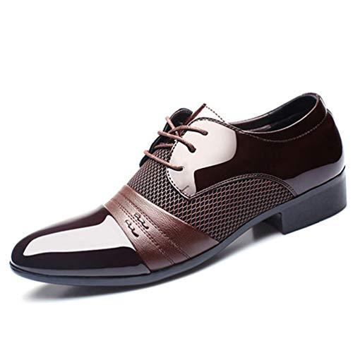 Oxford Lace-UPS Hombre Zapatos de Estilo Simple